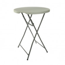 """Cocktail table - round high - 48"""" - plastic"""