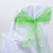 Apple Green – Chair Sash - Organza