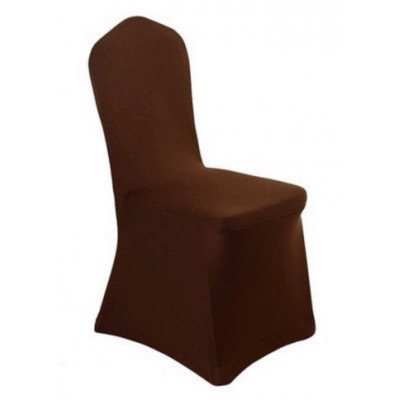chocolate - chair cover – spandex