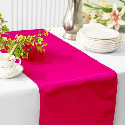 fuchsia – table runner - satin-1