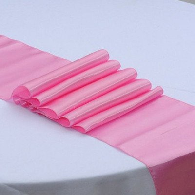 pink – table runner - satin-1