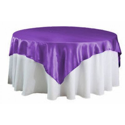 "purple – overlay - satin – 72""x72"""