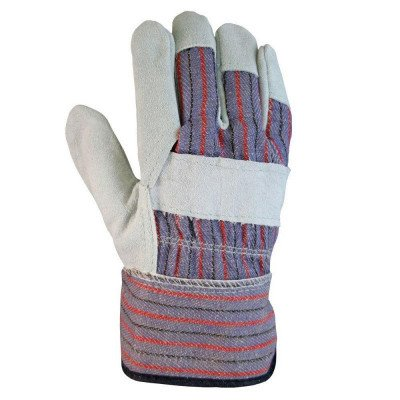 leather-palm large gloves picture 2