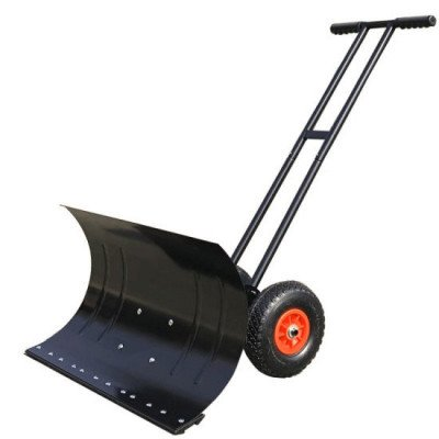 Adjustable Wheeled Snow Pusher picture 1