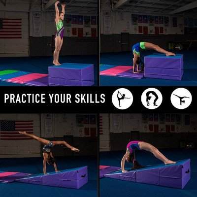 Gymnastics Folding Cheese Mat picture 5