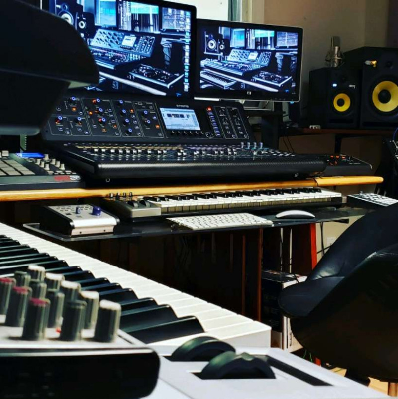 professional music recording studio