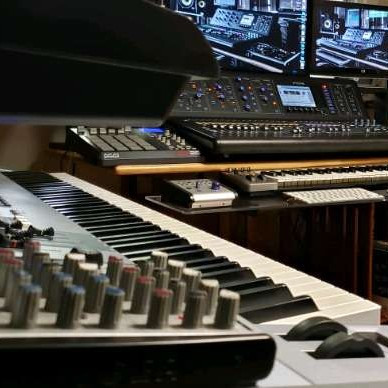 professional music recording studio-1