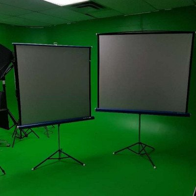 projector screens or diffusers