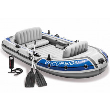 Intex Excursion 4: 4 person inflatable boat