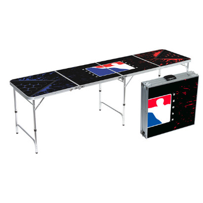 splatter edition beer pong table (foldable)