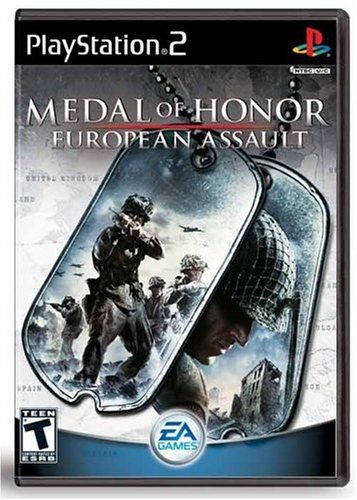 Playstation – Medal of Honour European Assault - ps2 game