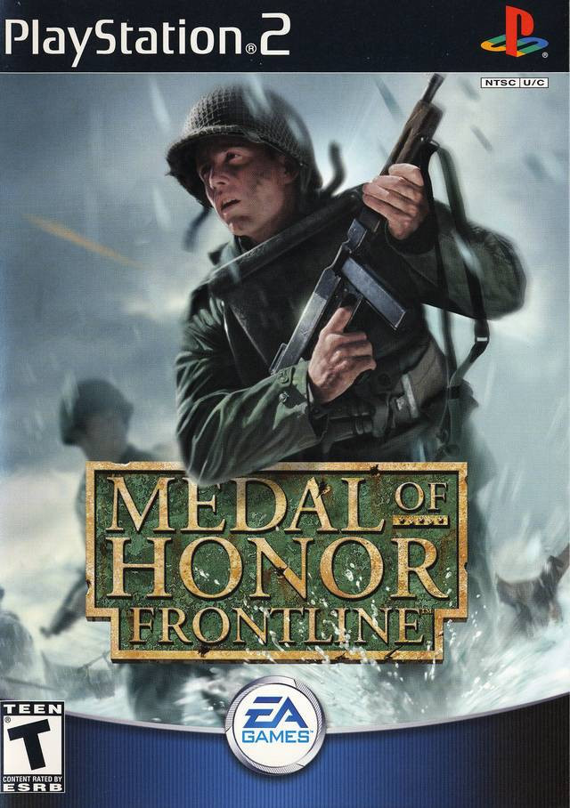 Playstation – Medal of Honour Frontline - ps2 game