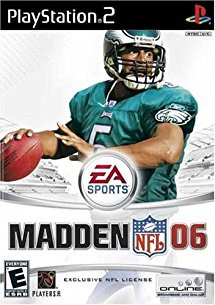 Playstation – Madden 2006 - ps2 game