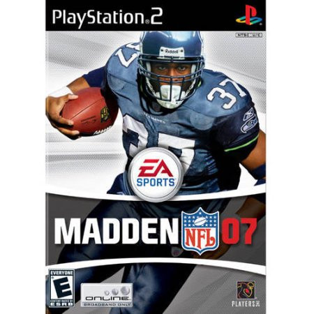 Playstation - Madden 2007 - ps2 game