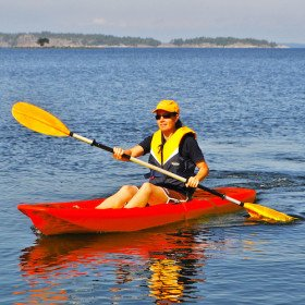 Single Kayak - Monday - Thursday Groups of 20 or more