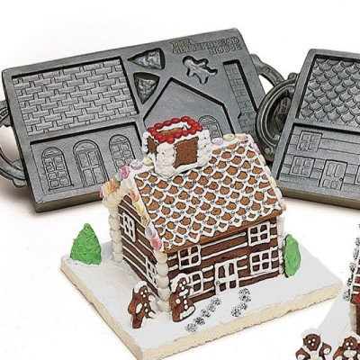 Gingerbread Cast Iron Mold picture 1
