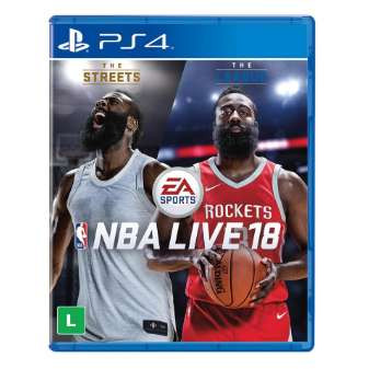 Nba live 18 - ps4 game