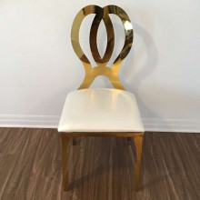 Infinity chairs - gold
