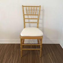 chiavari chairs - gold resin