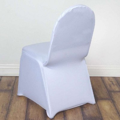 spandex chair covers - white-1