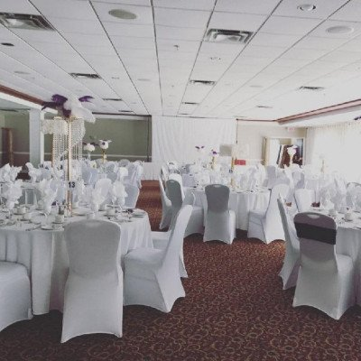 spandex chair covers - white-2