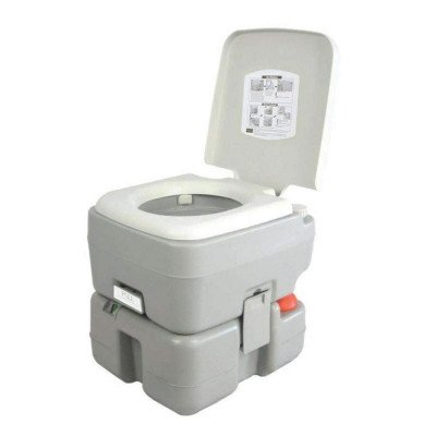 outdoor portable toilet with carrying bag picture 1