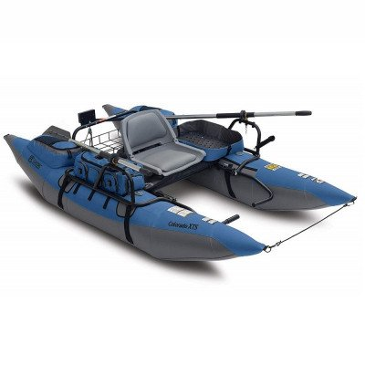 inflatable fishing pontoon boat picture 1