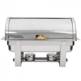 Chaffer Roll Top Food Warmer
