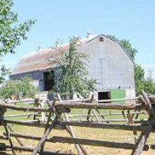Rustic barn event venue