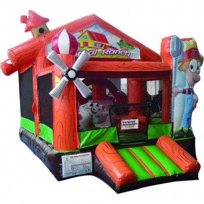 Inflatable Animal Ranch Bounce picture 1