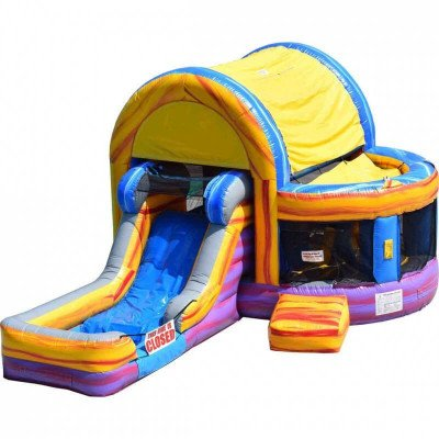 Inflatable Backyard Combo Marble Bounce picture 1