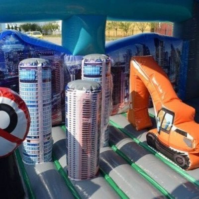 Inflatable City Walk Toddler Zone picture 2