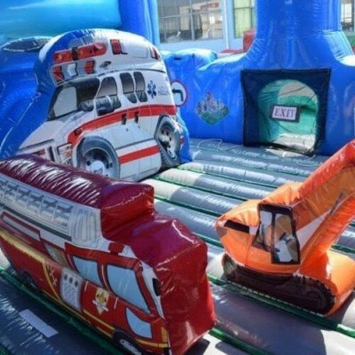Inflatable City Walk Toddler Zone picture 4
