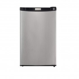stainless steel mini fridge