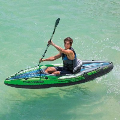 1-person inflatable kayak picture 1