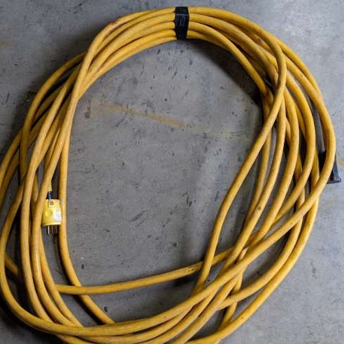 extension cord - 50ft - heavy duty