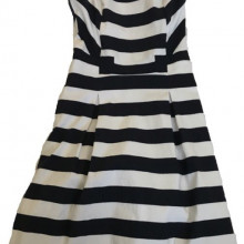 Dress navy and white