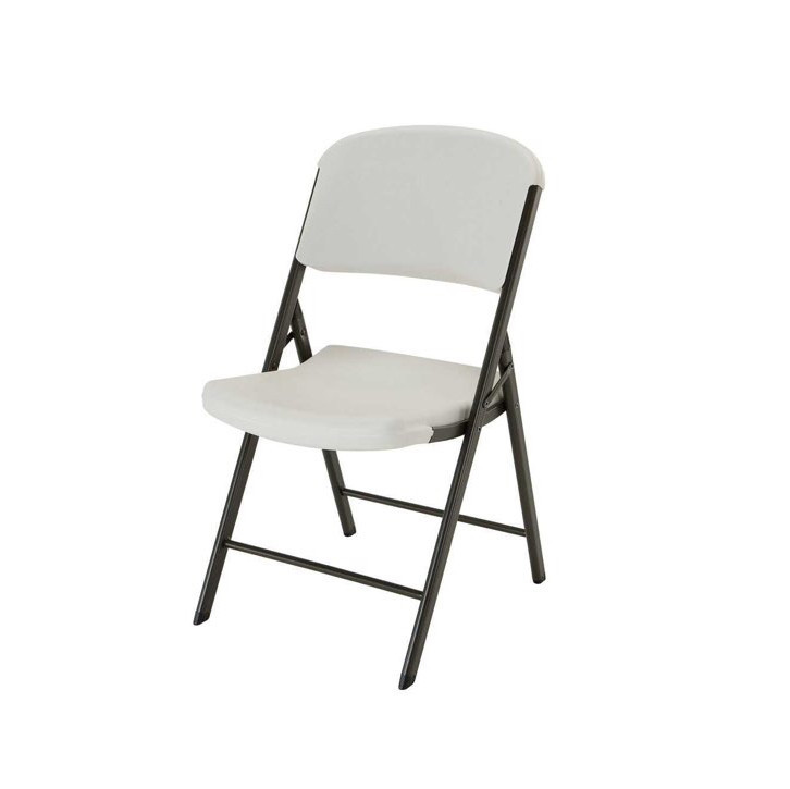 Foldable chair in grey
