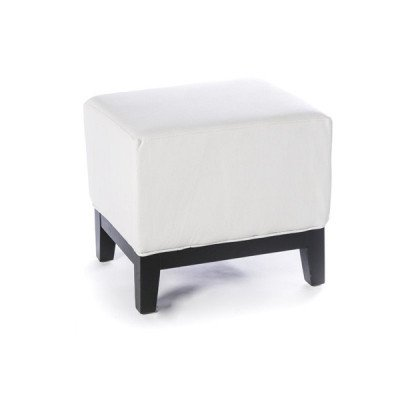 loulou – white footstool