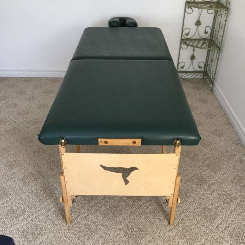 Massage table - with headrest