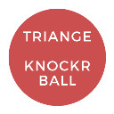 Triangle Knocker Ball