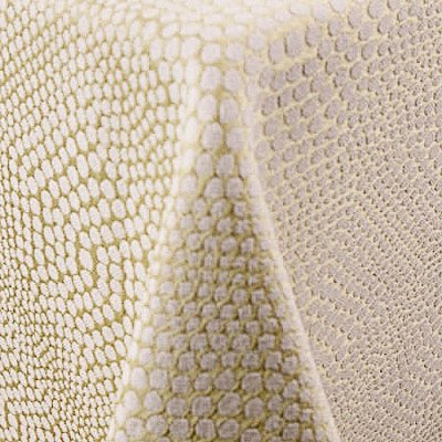 """Bubbly Tan 101""""x156"""" Tablecloth picture 1"""