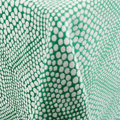 """Bubbly Emerald 101""""x156"""" Tablecloth picture 1"""