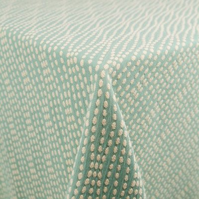"""Strand Turquoise 101""""x156"""" Tablecloth picture 1"""