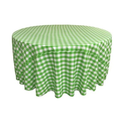 """Lyme Check Kiwi 108"""" Round Tablecloth picture 1"""