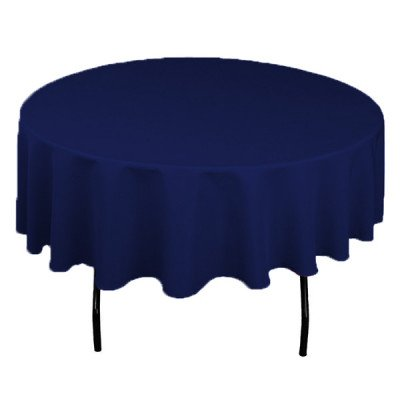 """Topaz Marine 108"""" Round Tablecloth picture 1"""