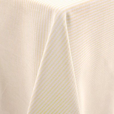 "Essex Yellow 108"" Round Tablecloth picture 1"