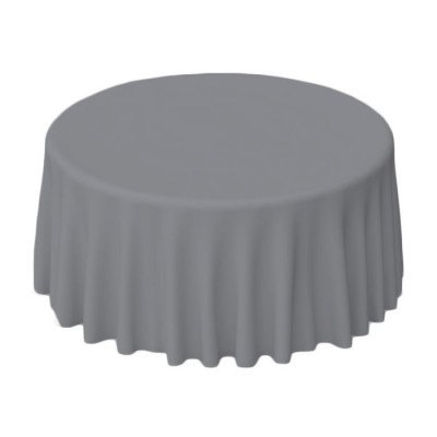 "Nuovo Pewter 108"" Round Tablecloth picture 1"