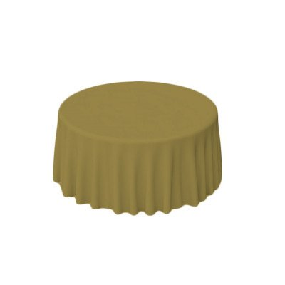 """Nuovo Light Olive 108"""" Round Tablecloth picture 1"""