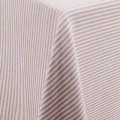 """Essex Taupe 108"""" Round Tablecloth picture 1"""